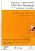 Cubierta para Prácticas y operaciones de lectura literaria en el corpus escolar